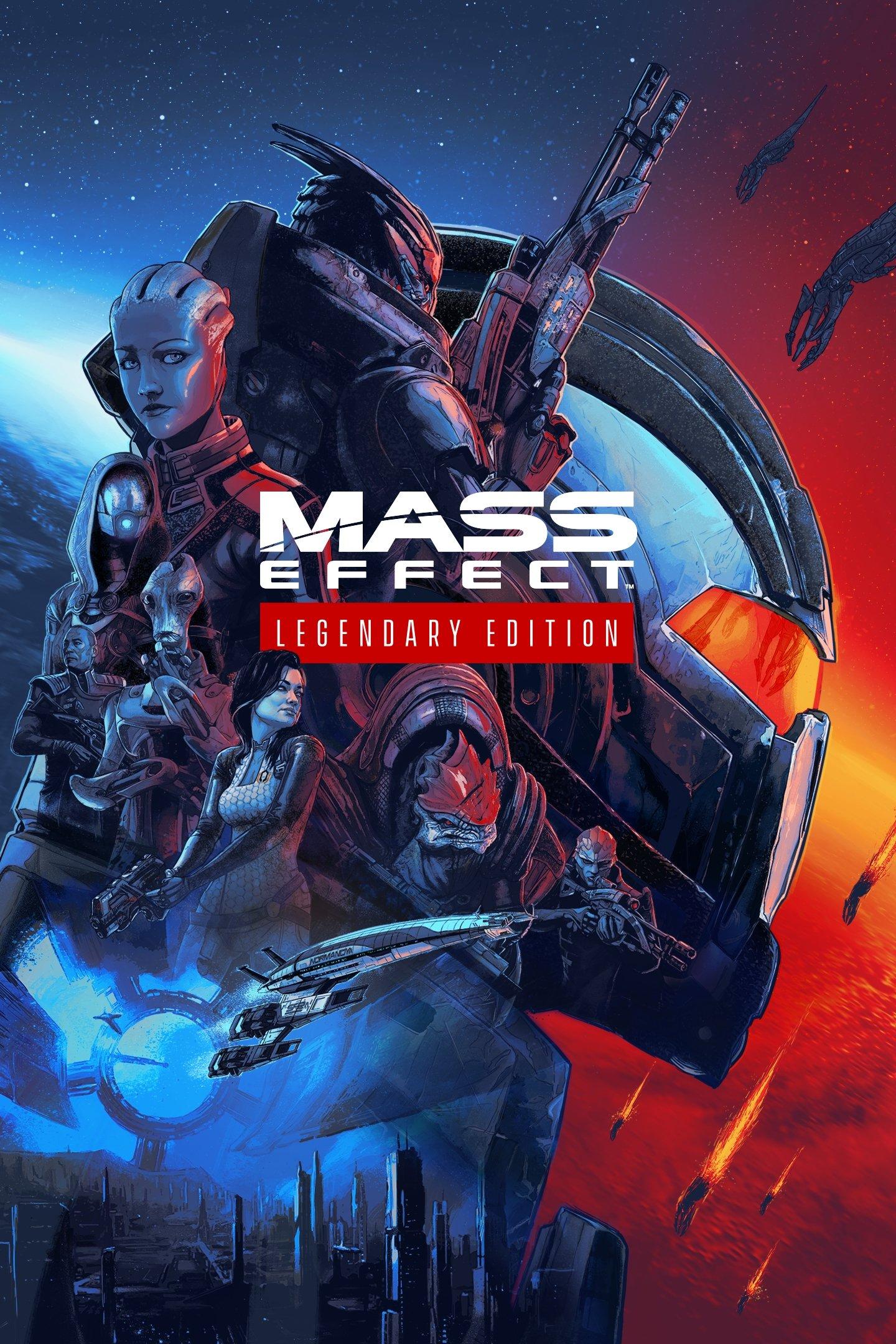 Mass Effect: Legendary Edition (2021) скачать торрент Лицензия