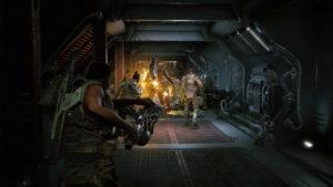 Скриншот к игре Aliens: Fireteam Elite